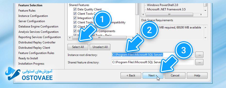 آموزش رایگان نصب Sql Server   سایت استوایی