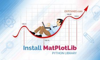 روش نصب matplotlib در پایتون | استوایی