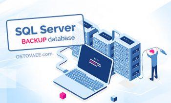 بک آپ گیری در Sql Server | استوایی ostovaee